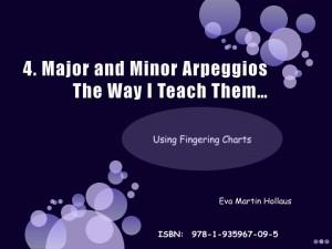 Major and Minor Arpeggios, The Way i Teach Them