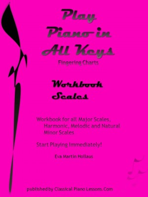 Play Piano In All Keys Workbook Scales